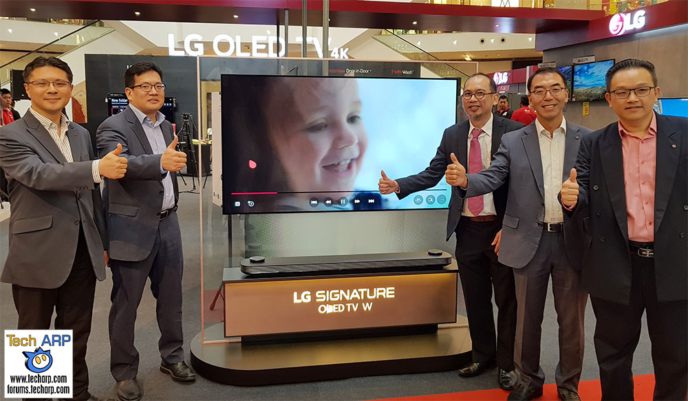 The Ultra-Thin LG SIGNATURE OLED W7 TV Revealed!