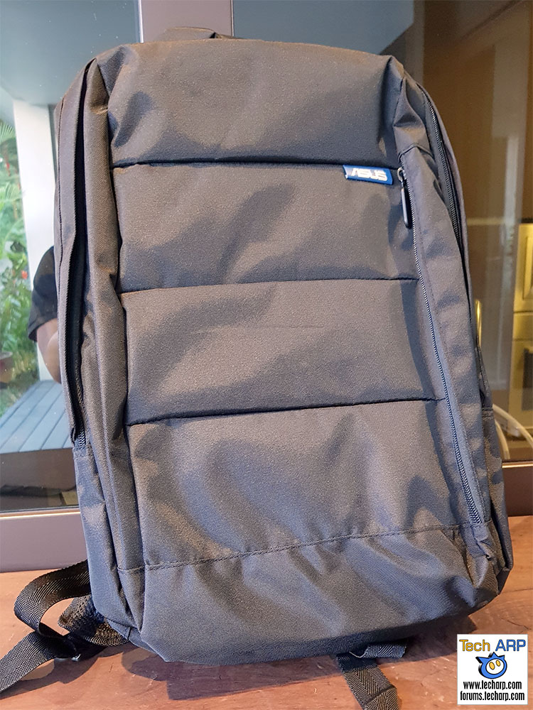 ASUS VivoBook S15 backpack