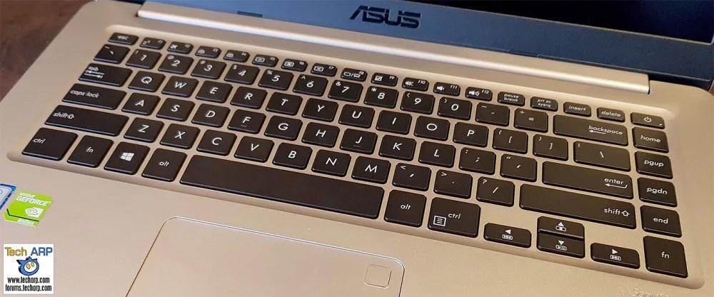 ASUS VivoBook S15 keyboard