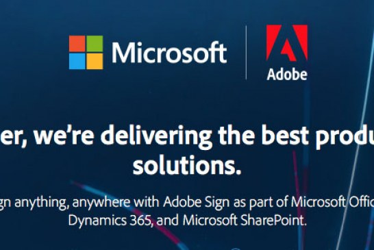 The Adobe Sign & Microsoft Teams Partnership Details