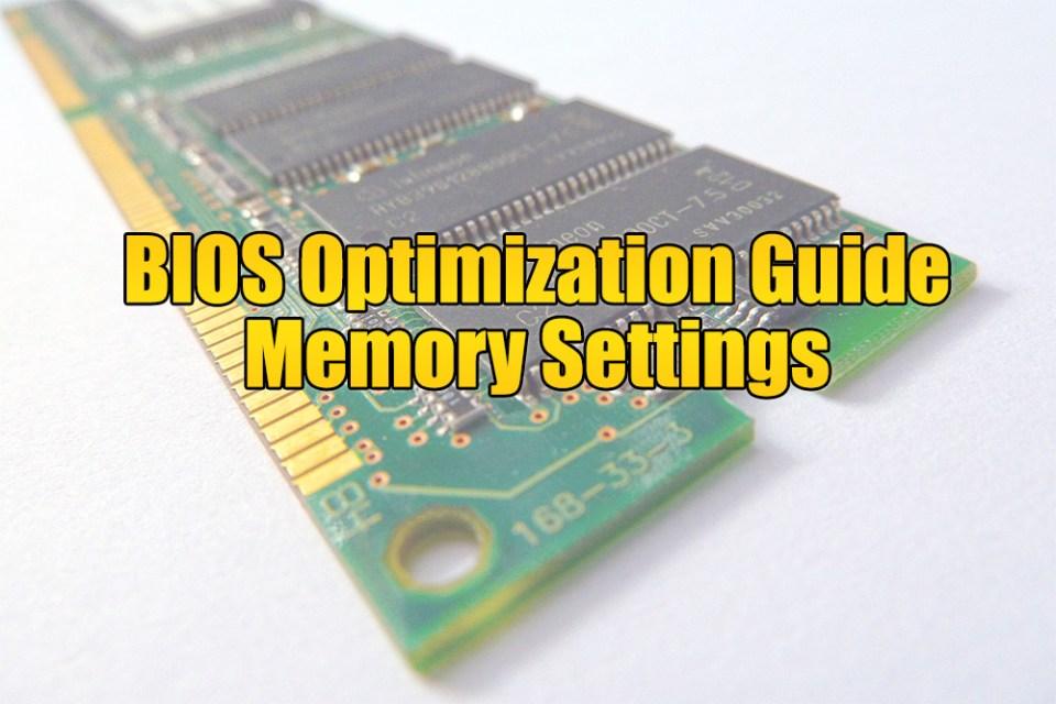 DRAM Termination - The BIOS Optimization Guide