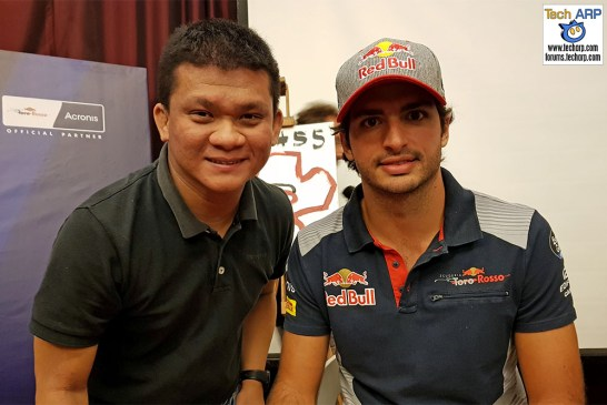 An Evening With Scuderia Toro Rosso & Acronis - Carlos Sainz & Adrian