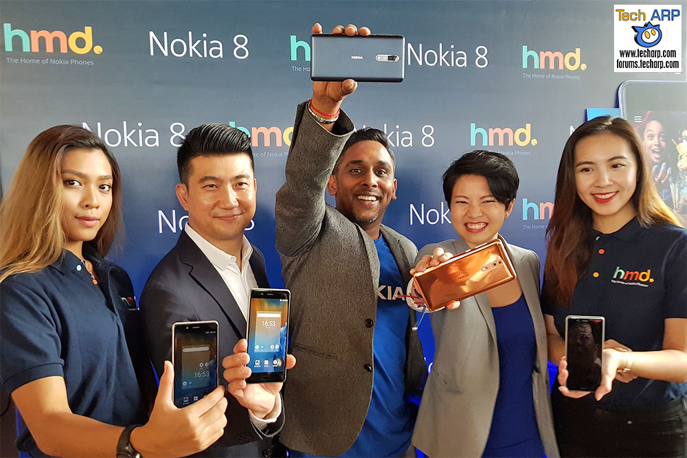 The Nokia 8 Smartphone Introduces Dual-Sight Bothie!