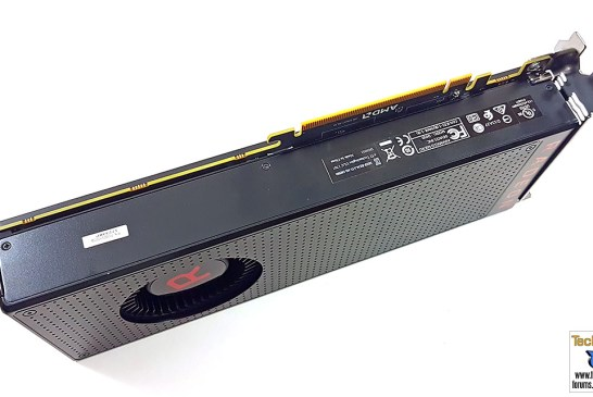 The AMD Radeon RX Vega 56 graphics card