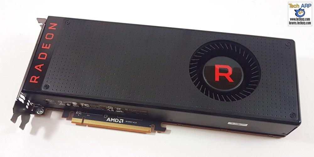 AMD Radeon RX Vega 64 front