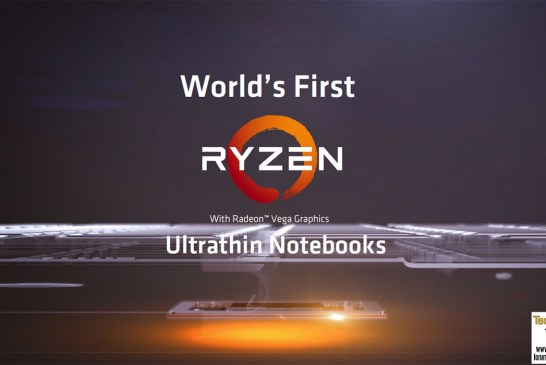 The World's First AMD Ryzen Mobile Notebooks Revealed!