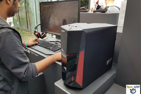 The Lenovo Legion Y520 Tower Gaming Desktop