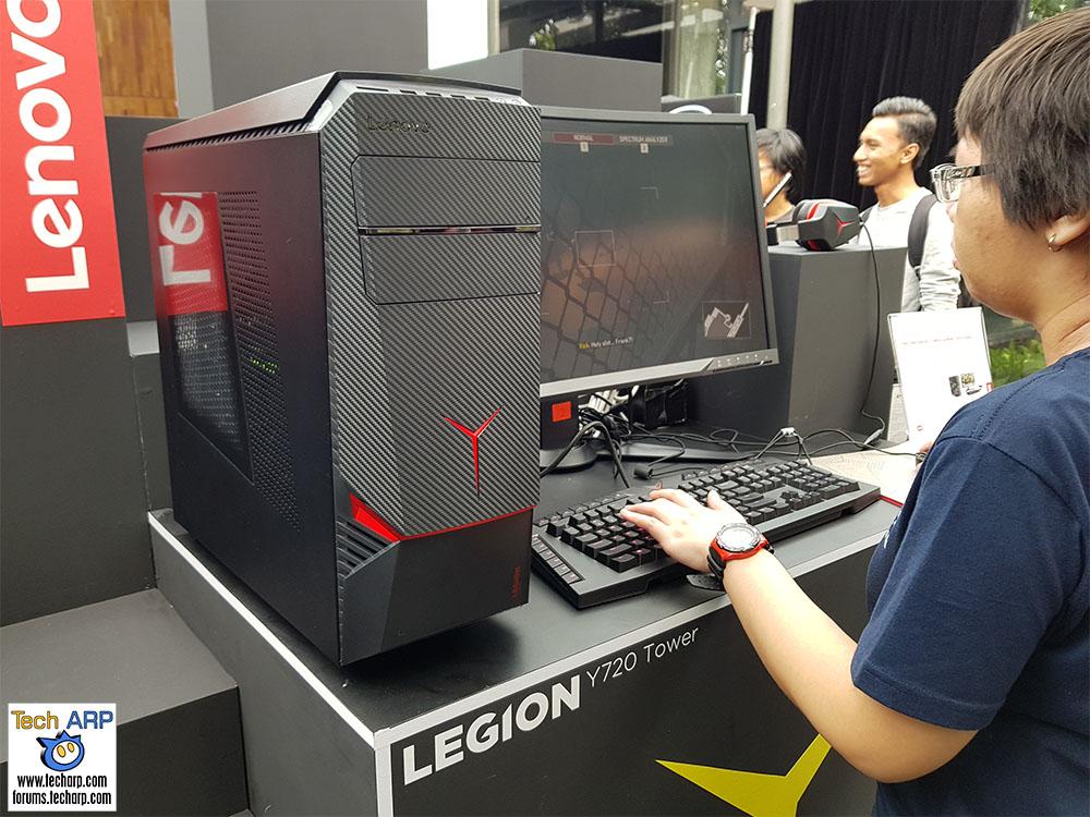 The Lenovo Legion Y720 Tower Gaming Desktop