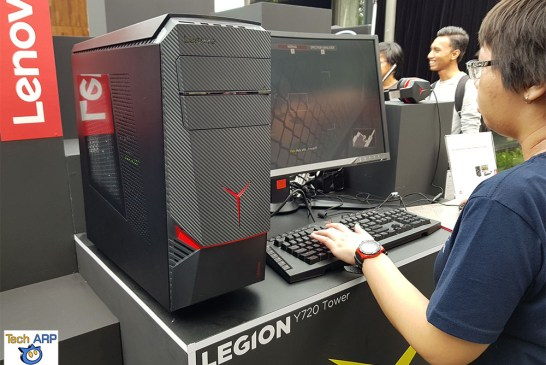 The Lenovo Legion Y720 Tower Gaming Desktop