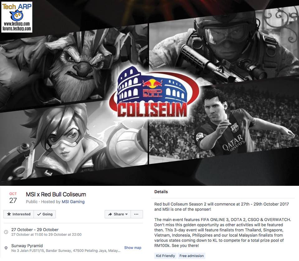 MSI Red Bull public invitation