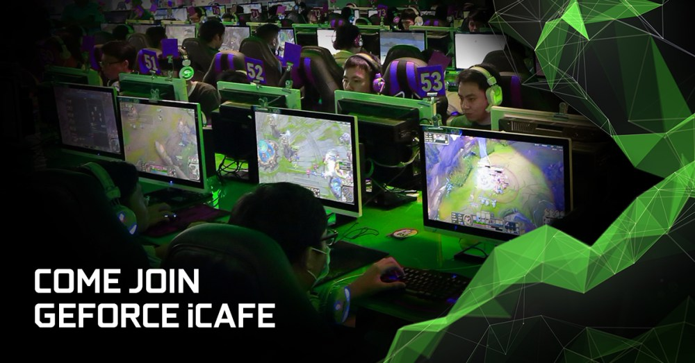 There Are Now 250 GeForce iCafes Across Asia Pacific!
