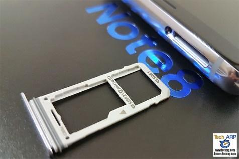 Samsung Galaxy Note8 hybrid SIM