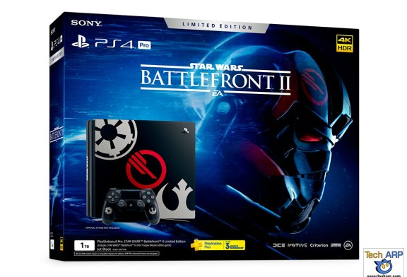 The Sony PS4 Pro Star Wars Battlefront II Limited Edition Details!