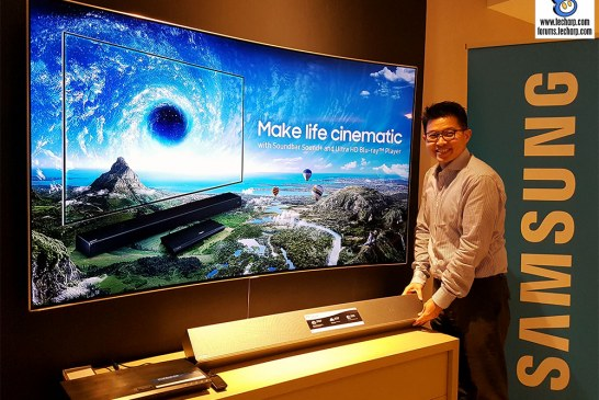 The Samsung Soundbar Sound+ & 4K Ultra HD Blu-ray Player Revealed!