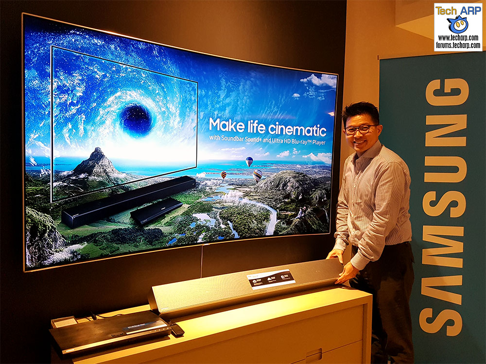 The Samsung Soundbar Sound+ & 4K Ultra HD Blu-ray Player Revealed!