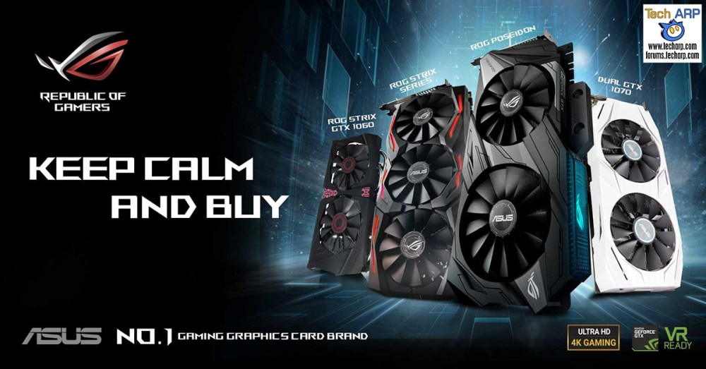 ASUS ROG Announces GeForce Price Cuts!
