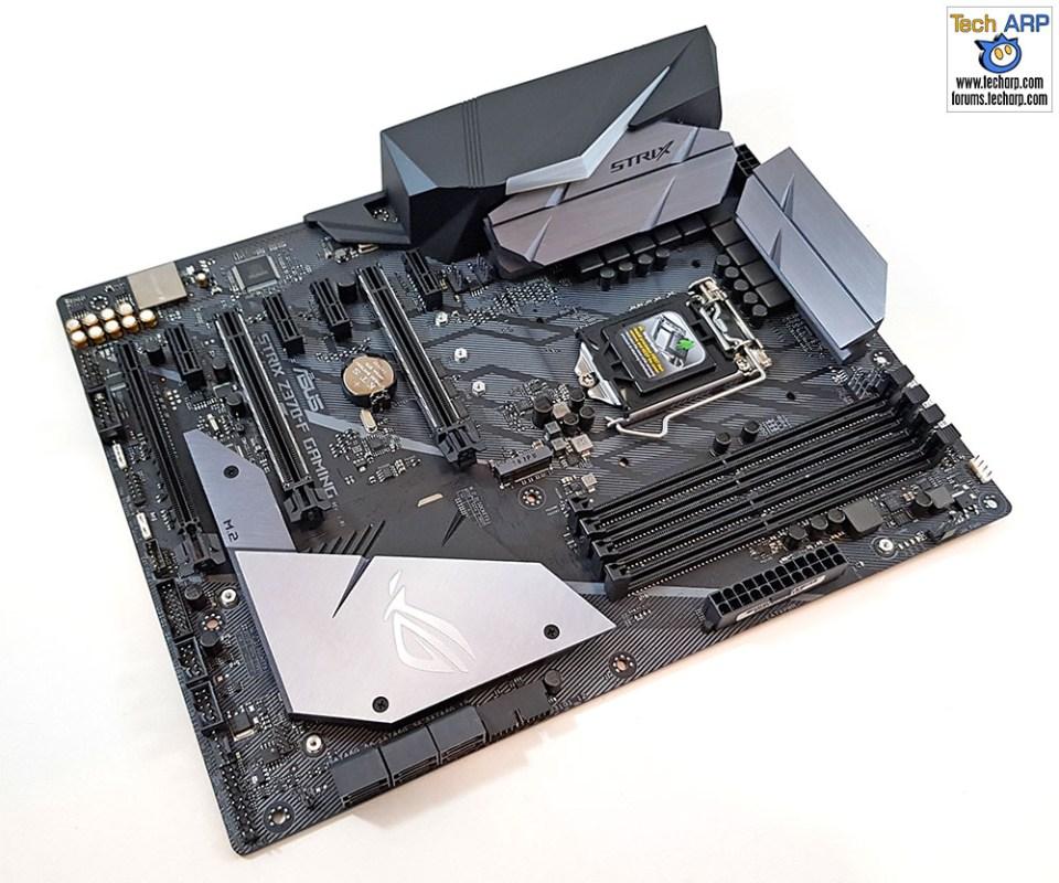 The ASUS ROG Strix Z370-F Gaming Motherboard