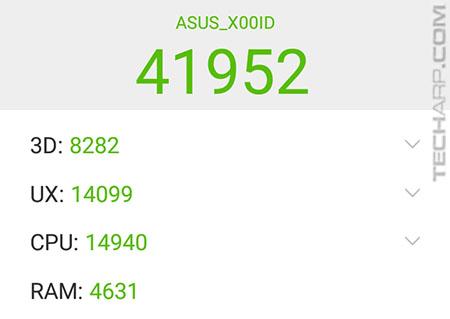 ASUS ZenFone 4 Max Pro AnTuTu results