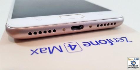 ASUS ZenFone 4 Max Pro bottom