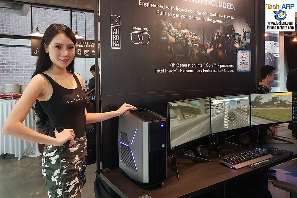 The Alienware Aurora R7 Other Gaming Products Revealed Tech Arp