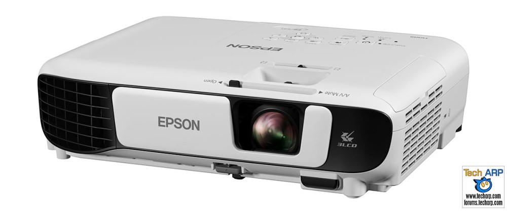 The Epson EB-S41 projector