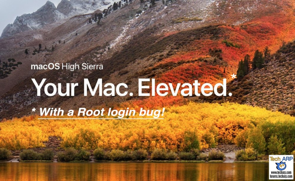 The macOS High Sierra Root Bug Explained