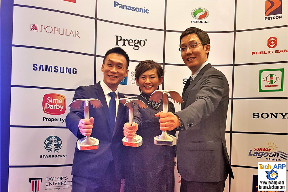 Samsung Malaysia Scores Three 2017 Putra Brand Awards!