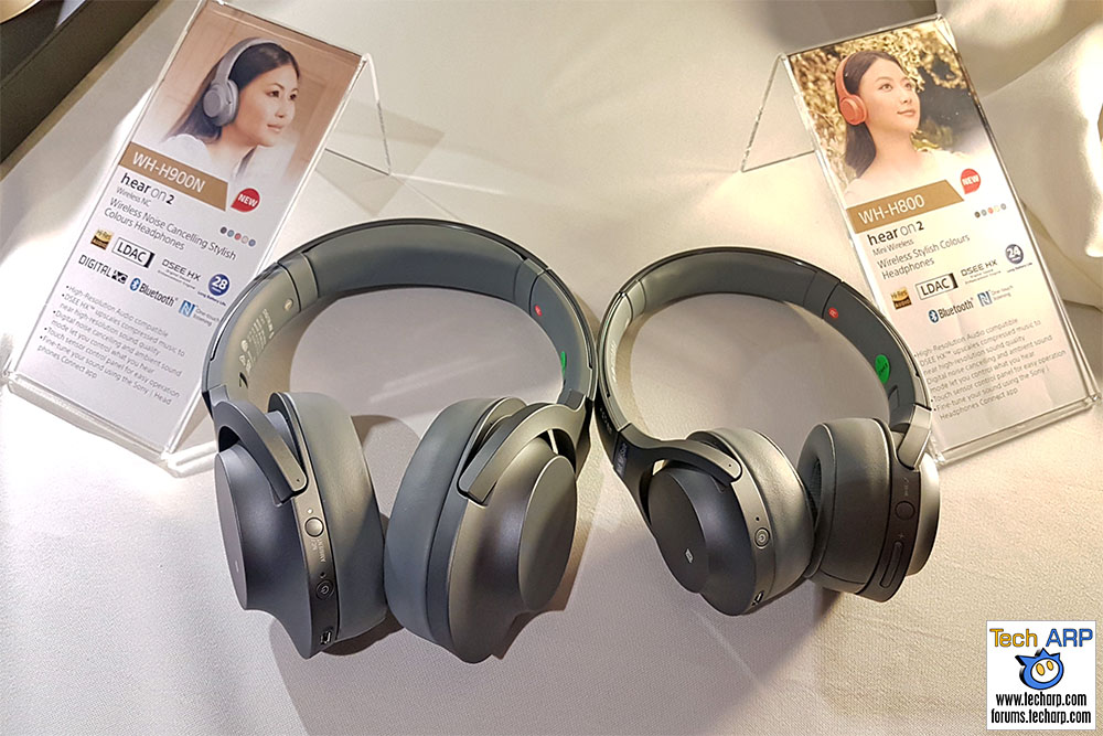 The Sony Hear On 2 H900N & H800 Headphones Revealed!