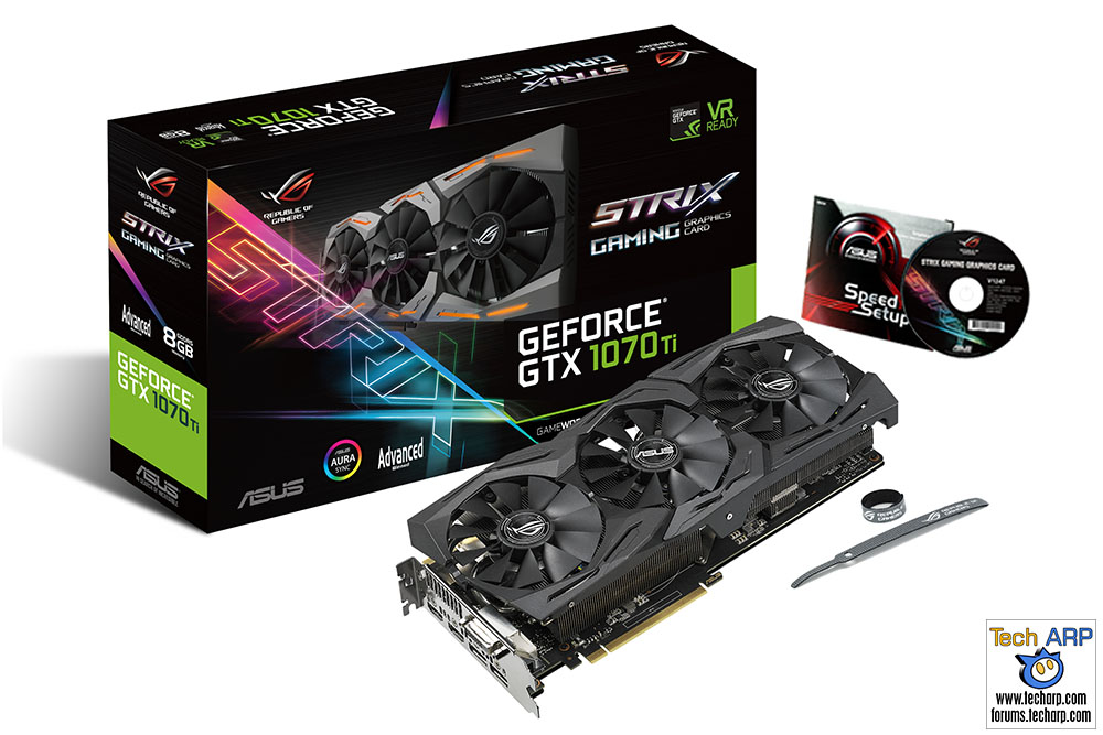 The ASUS ROG Strix GTX 1070 Ti A8G Gaming Revealed!
