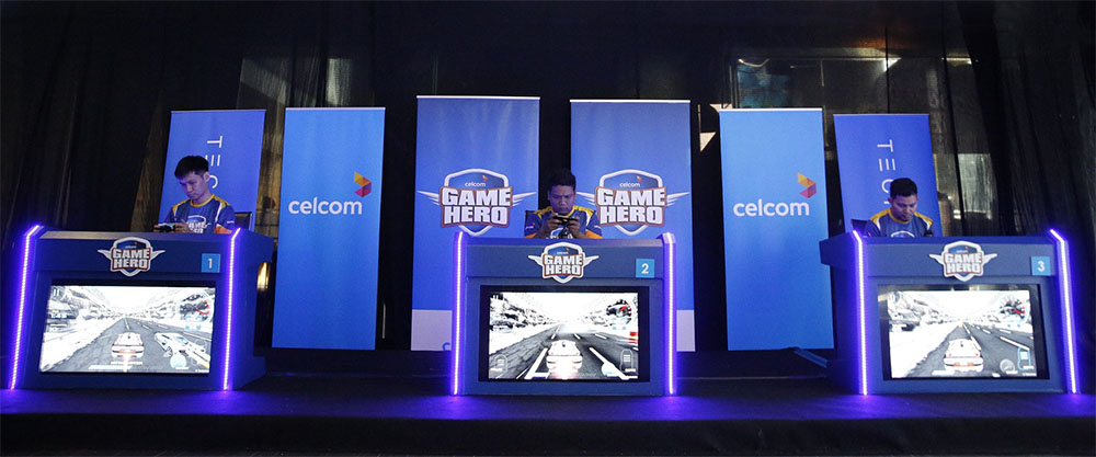 Celcom Game Hero Winner Bags BMW 3 Series!