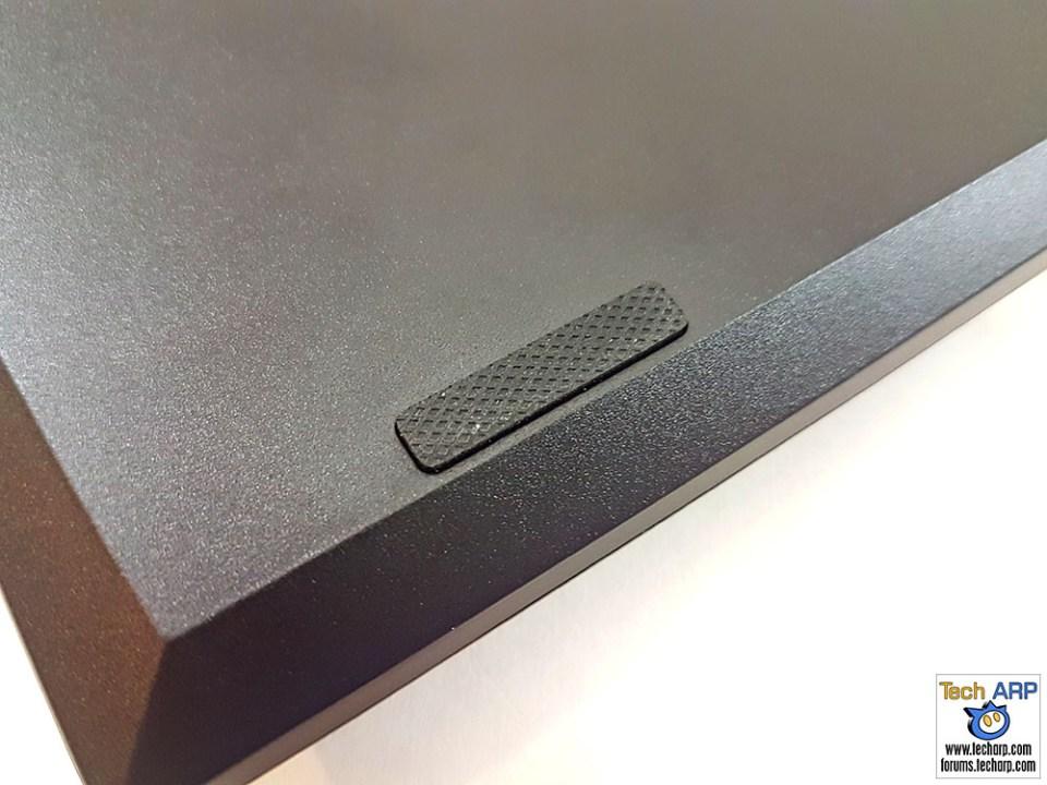 HyperX Alloy FPS Pro rubber feet