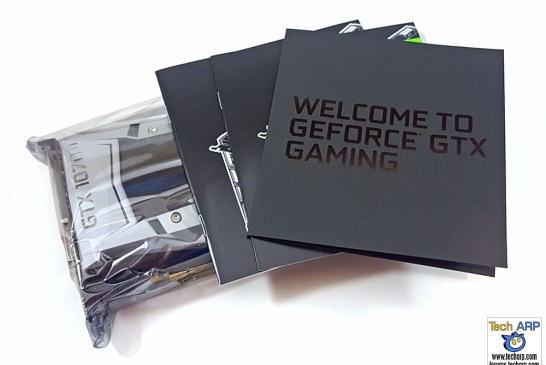 NVIDIA GeForce GTX 1070 Ti box contents
