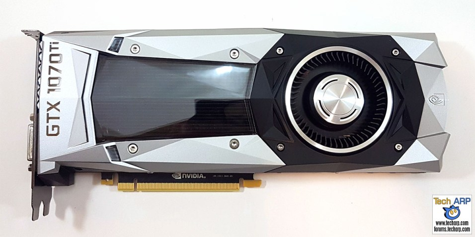 NVIDIA GeForce GTX 1070 Ti front