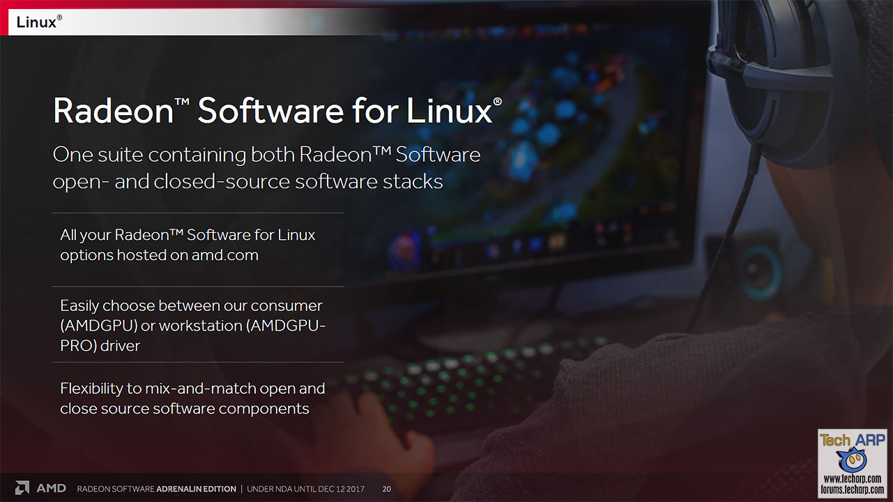 The AMD Radeon Software Adrenalin Edition Tech Report   The