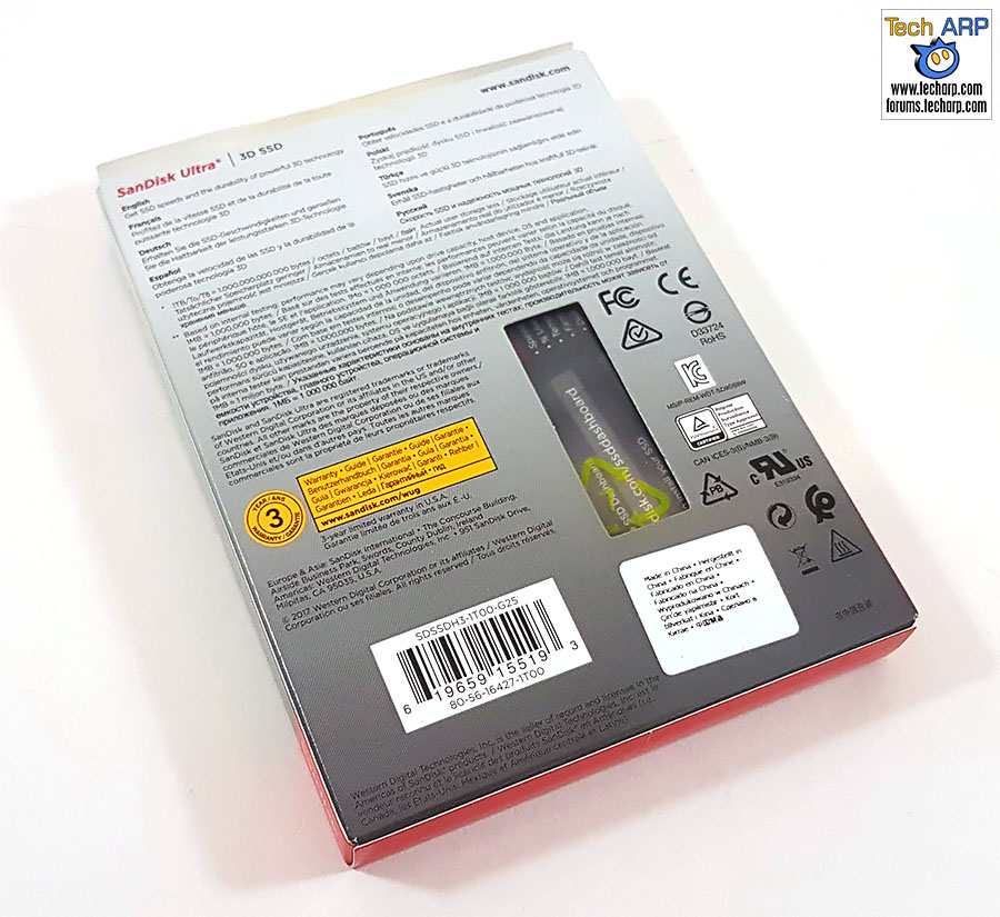 The 1TB SanDisk Ultra 3D SSD (SDSSDH3-1T00) Review