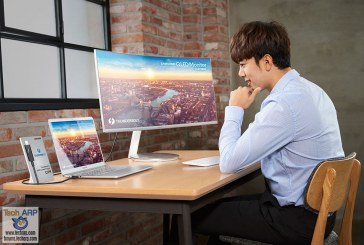 The Samsung CJ791 – First Thunderbolt 3 QLED Curved Monitor!