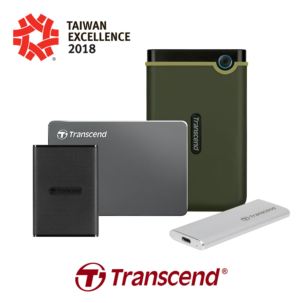 The 4 Transcend Winners Of The 2018 Taiwan Excellence Award!
