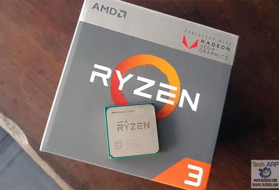 AMD Ryzen 3 2200G With Radeon Vega 8 Graphics Review
