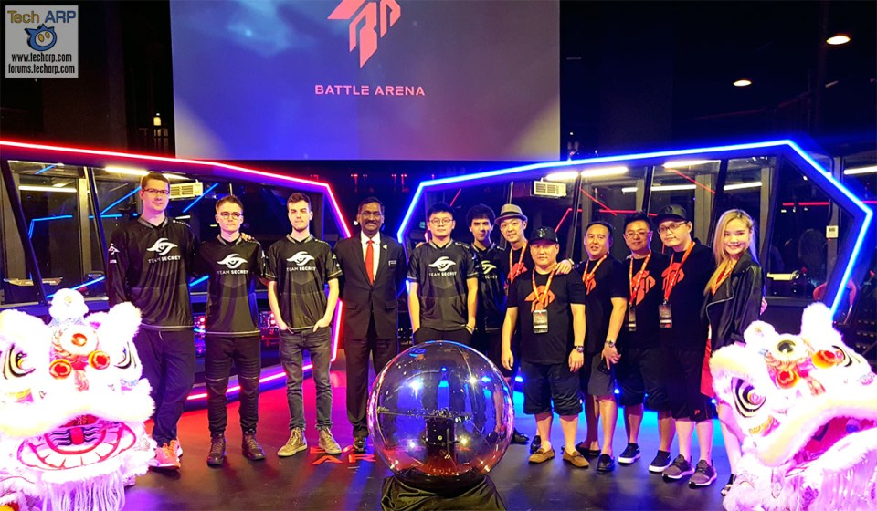 The Battle Arena eSports Gaming Club Kicks Off!