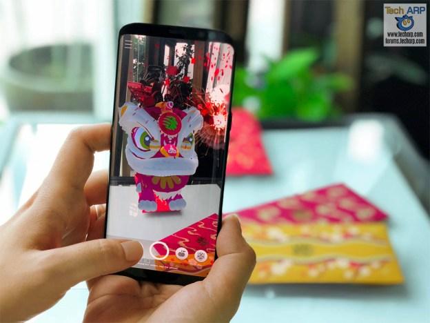 """The Maxis HuatAR Ang Pao App Brings """"Huat"""" To Life!"""