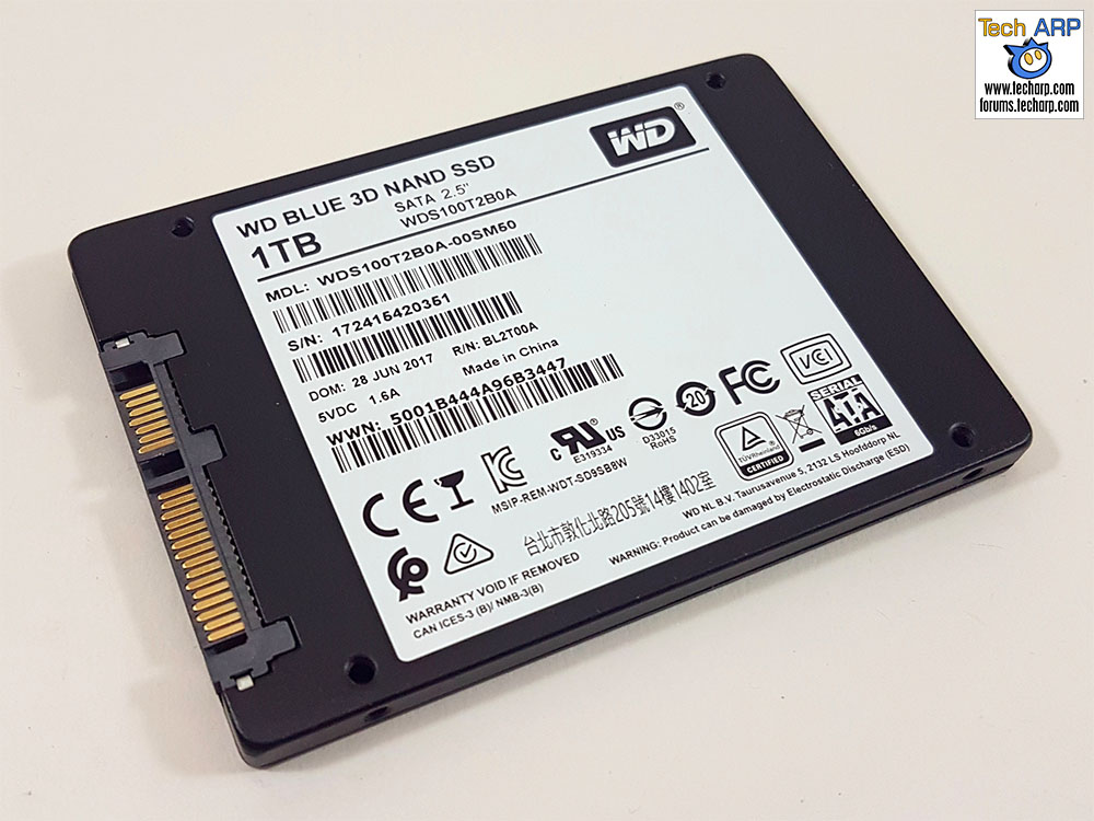The 1TB WD Blue 3D SSD