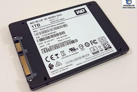 The 1TB WD Blue 3D SSD