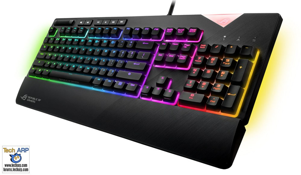 The ASUS ROG Strix Flare Mechanical Keyboard Revealed!