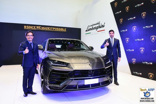 The Lamborghini UrusSUV Debuts In Malaysia!