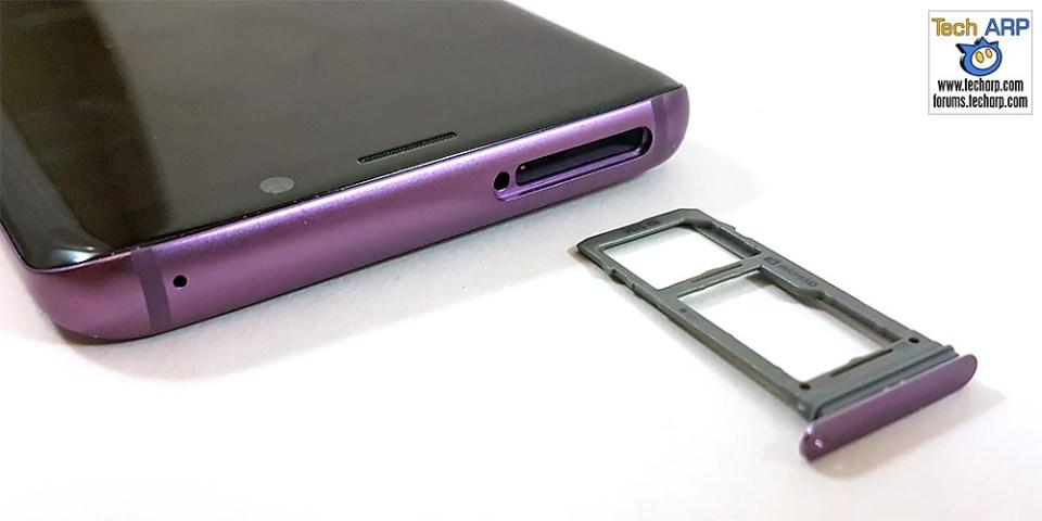 Samsung Galaxy S9 hybrid SIM