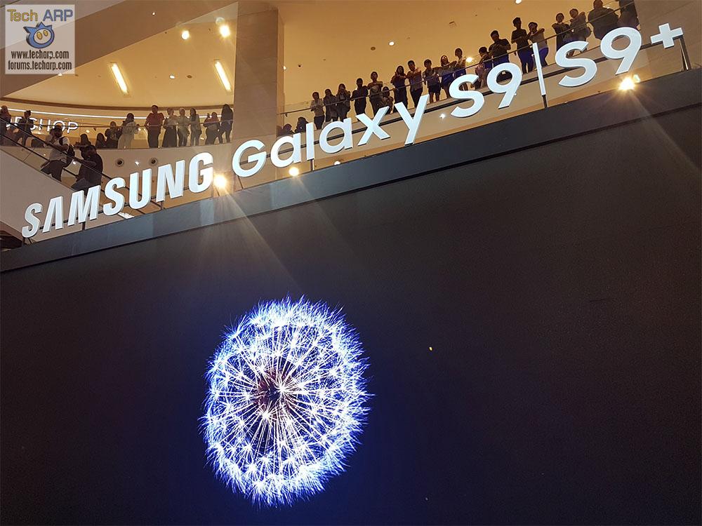 Park Bo-gum @ Samsung Galaxy S9 Launch!
