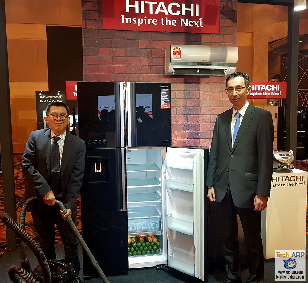 2018 Hitachi Home Appliance Technologies Revealed!