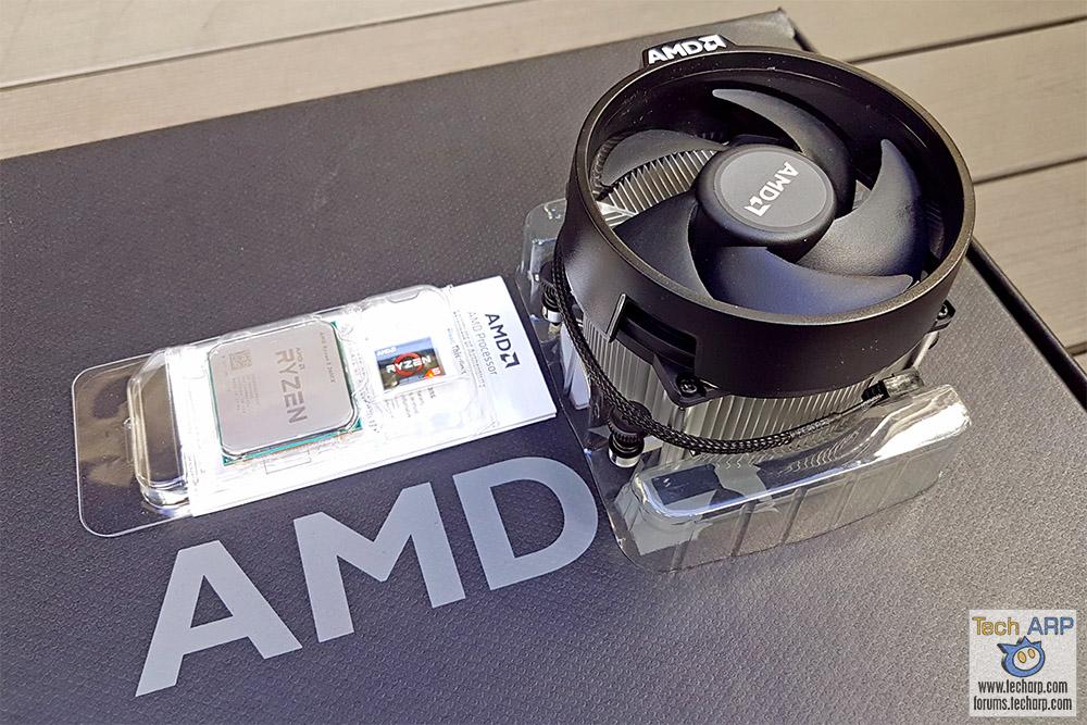 AMD Ryzen 5 2600X box contents