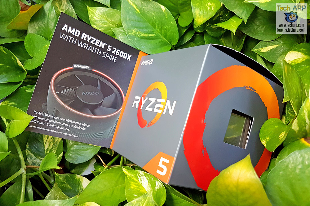 AMD Ryzen 5 2600X box