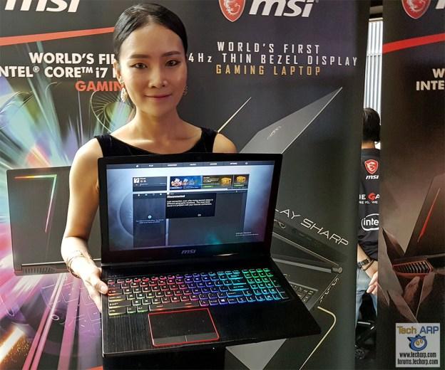MSI GE63 Raider RGB 8RF Gaming Laptop Preview